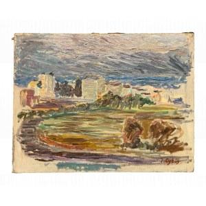 Jan Cybis (1897-1972), Pejzaż nadmorski