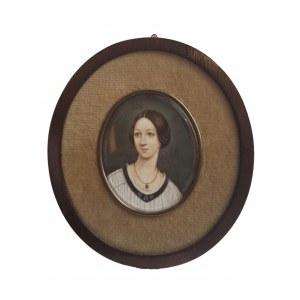 Anna Jaxa-Chamiec (ur. 1913, Siemiechów), Portret kobiety