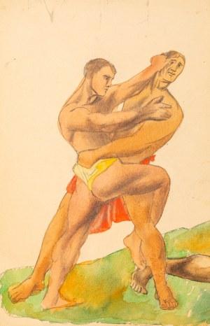 Marek WŁODARSKI (1898 - 1960), Zapaśnicy, ok. 1938