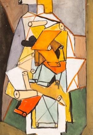 Marek WŁODARSKI (1898 - 1960), Kompozycja konstrukcyjna, 1948