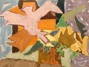 Marek WŁODARSKI (1898 - 1960), Ptak w ogrodzie, ok. 1954