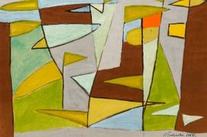 Marek WŁODARSKI (1898 - 1960), W lesie, 1956