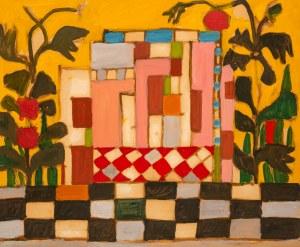 Marek WŁODARSKI (1898 - 1960), Dom wśród kwiatów