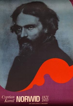 Plakat CYPRIAN KAMIL NORWID, 1971