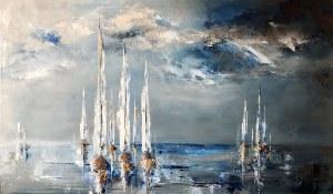 Joanna Buniek (pseud. A.Siek), Morze w błękitach, 2021