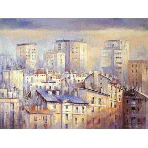 Barbara Czerwińska, Miasto o świcie, 2020