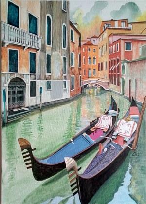 Bogumiła Ciosek, Wenecja, 2021