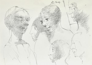Roman BANASZEWSKI (1932-2021), Szkice postaci