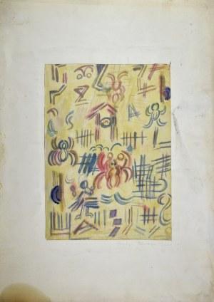 Krystyna Pelletier (1914-2007), Bez tytułu - Lato (?), 1960