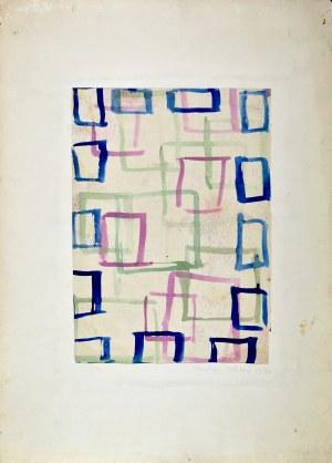Krystyna PELLETIER (1914-2007), Kompozycja z prostokątami, 1960