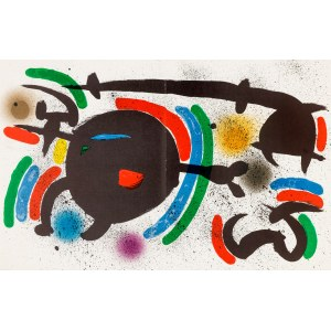 Joan MIRÓ (1893-1983), Kompozycja X, 1972