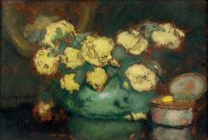 Alfons KARPIŃSKI (1875-1961), Żółte róże