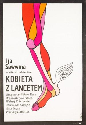 Jerzy Flisak, Kobieta z lancetem, 1973