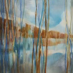 Jolanta Haluch, Blue Lake 2, 2019