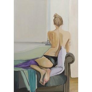 Agata Słomianowska, Nude in the window, 2019