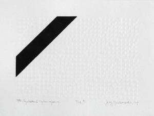 Jerzy GRABOWSKI (1933-2004), Synteza II - System cyfrowy, 1982
