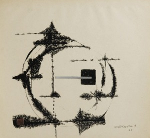 Arika MADEYSKA (1928-2004), Interwencja, 1963