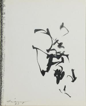 Ireneusz PIERZGALSKI (ur. 1929), Znaki, 1963
