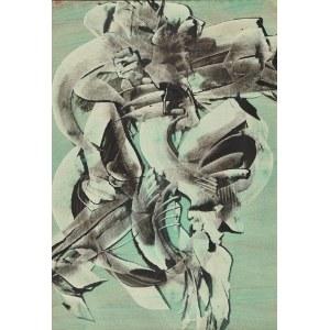 Alfred Lenica (1899 Pabianice - 1977 Warszawa), Urojenie 5, 1964
