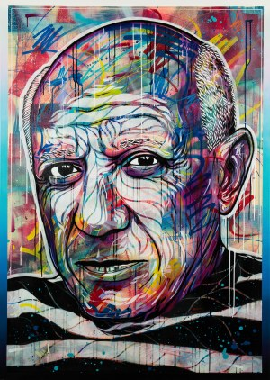 Michał Mąka (ur. 1989), Pablo Picasso, 2020