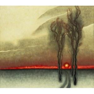 Dawid Zdobylak (ur. 1993), Droga - zachód słońca, 2020