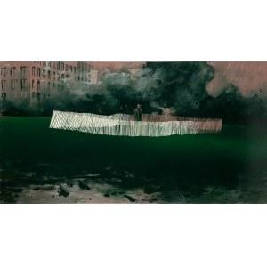 Wiktor Jackowski (ur. 1987), Fence III, 2021
