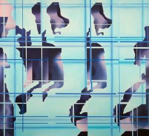 Wawrzyniec Reichstein (ur. 1977), Virtual Body/Swimmer, 2021