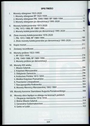 Katalog monet polskich 2021
