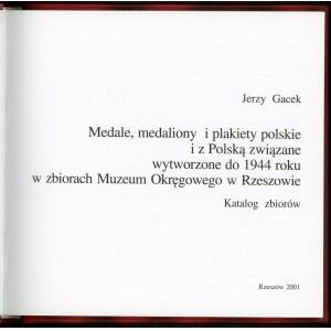 Gacek Jerzy, Medale Medaliony Plakiety