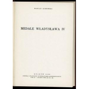 Marian Gumowski. Medale Władysława IV.