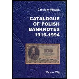 Miłczak Czesław. Catalogue of polish banknotes 1916-1994
