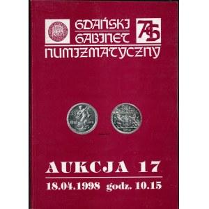 Gdański Gabinet Numizmatyczny Aukcja 17