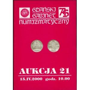 Gdański Gabinet Numizmatyczny Aukcja 21