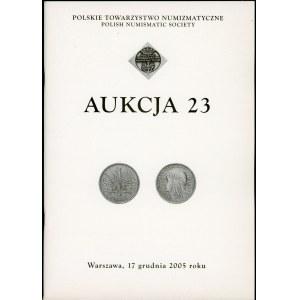 Polskie Towarzystwo Numizmatyczne Aukcja 23