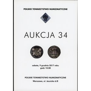 Polskie Towarzystwo Numizmatyczne Aukcja 34