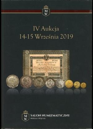 Salon Numizmatyczny Mateusz Wójcicki IV Aukcja
