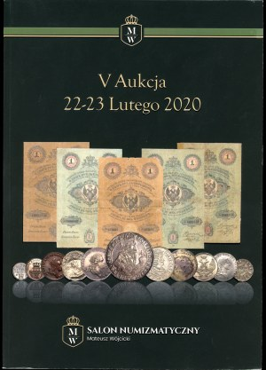 Salon Numizmatyczny Mateusz Wójcicki V Aukcja
