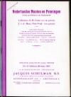 Schulman Jacqus. Catalogue 237, 238, 239, 241