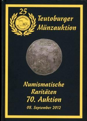 Teutoburger Münzauktion. 70. Auktion. Numismatische Raritäten