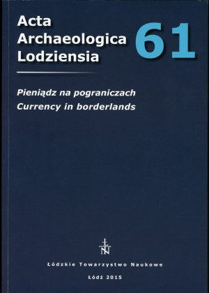 Acta Archeologica Lodziensia 61