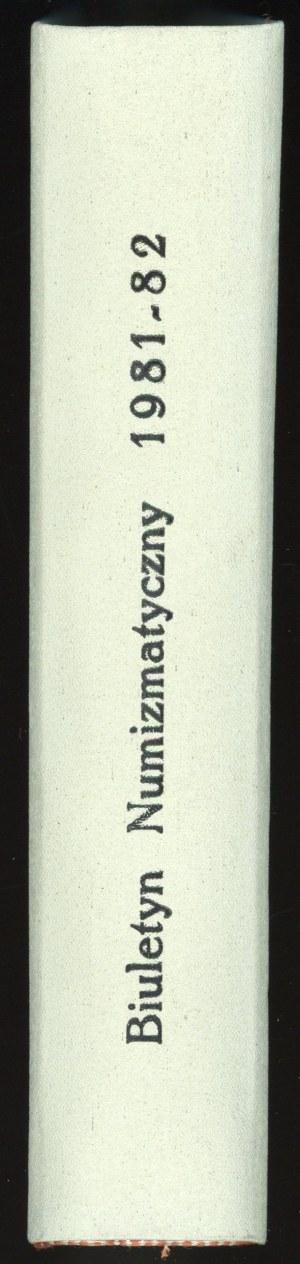 Biuletyn Numizmatyczny Rok 1981-1982