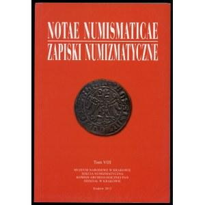Notae Numismaticae T.VIII. 2013