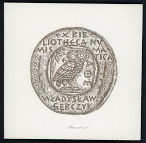 Gębczyk, Władysław - Ekslibris numizmatyczny.