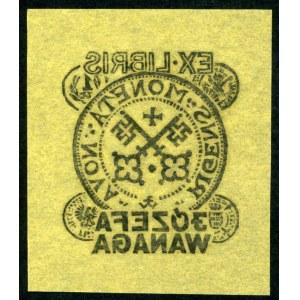 Wanag, Józef - Ekslibris numizmatyczny