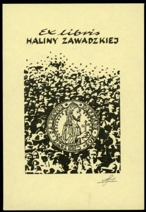Zawadzka, Halina - Ekslibris numizmatyczny