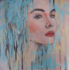Paulina Lewandowska (ur. 1987), Portret, 2021