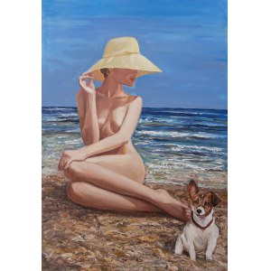 Celina Reiss-Litke (ur.1950), Na wakacjach, 2020