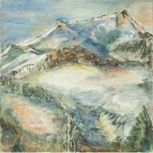 Ewa Ludwikowska (ur. 1956), Abstrakcja Polana Błociska, 2019