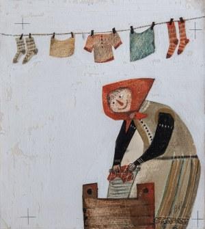 Bohdan WRÓBLEWSKI (1931-2017), Ilustracja do książki