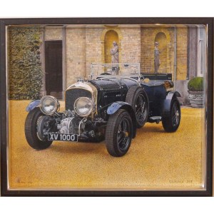 Piotr Stefanow (ur.1956), Bentley 1930 ..., 2019